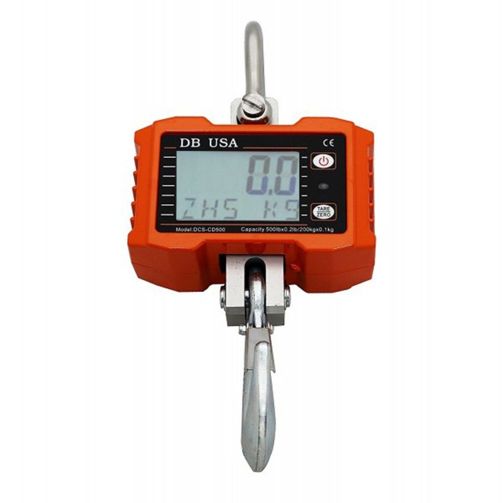 1000 lb heavy duty digital hanging scale
