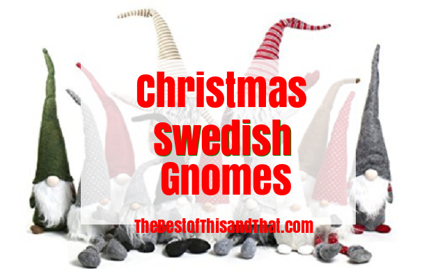 Adorable Felt Christmasa Swedish Gnomes Tomte