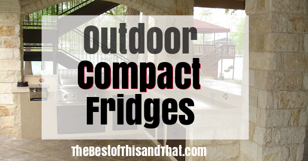 Top 10 Best Outdoor Compact Refrigerator Fridge Reviews - cover