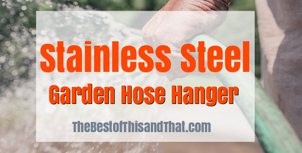 Best Stainless Steel Garden Hose Hanger review - sale