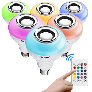 Best Colored Bluetooth Light Bulb Speakers