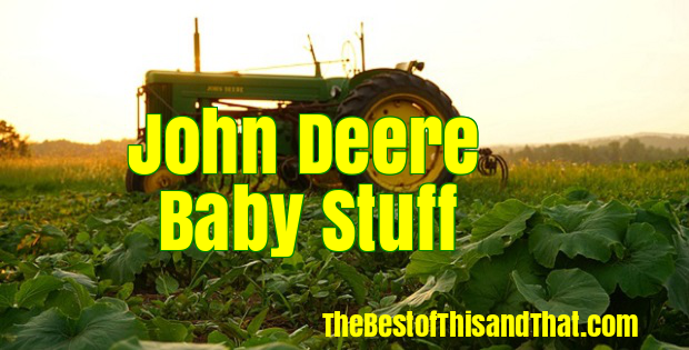 Adorable John Deere Baby items