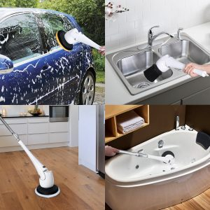 Homemaxs Scrubber Cordless Bathroom