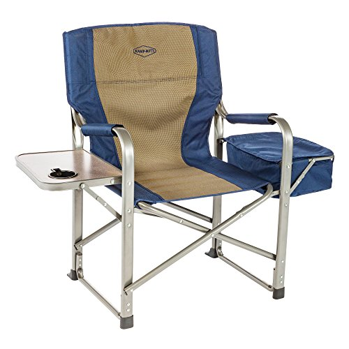 Kamp Rite directors chair with side table and cooler bag