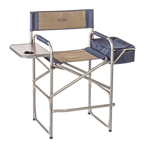 Kamp Rite The High Back Director's Chair with Side Table and Cooler