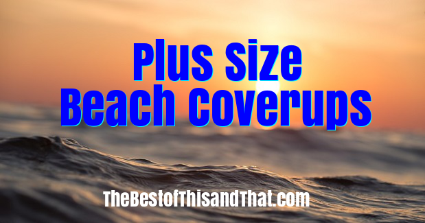 Ladies plus size beach coverups and kimonos