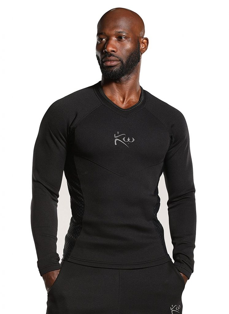 Men's neoprene long sleeve sauna shirt 3xl 4xl 5xl 6xl