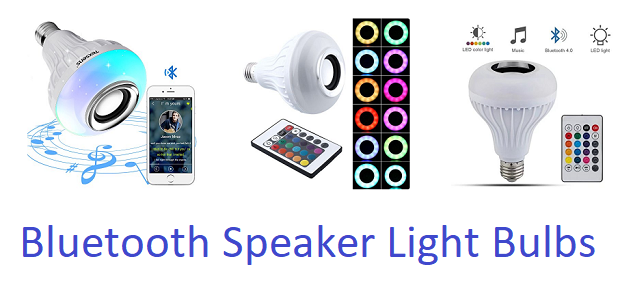 Best Bluetooth speaker light bulbs