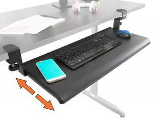 Best Clamp on Keyboard Tray - no screws required