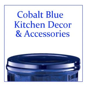 Cobalt Blue Kitchen Accessories And Decor Items