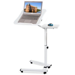 Best Rolling Adjustable Laptop Table Over Bed, Couch or Sofa