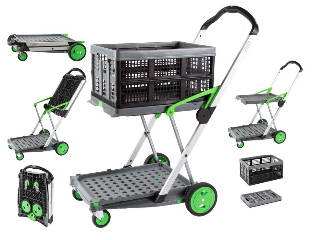Clax Folding Shopping Cart