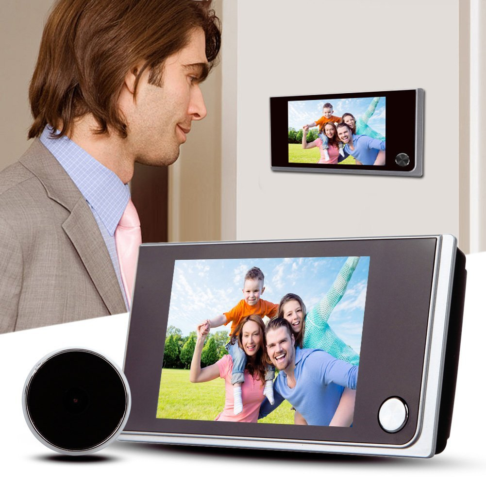 Best 3.5 Inch Digital Peephole Viewer Door Camera