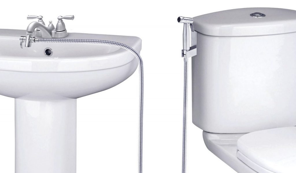 fresh water bidet attachment - Faucet Sprayer Warm Water Bidet