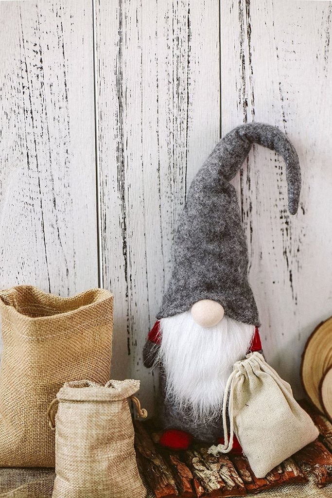 Handmade felt Swedish Christmas gnome