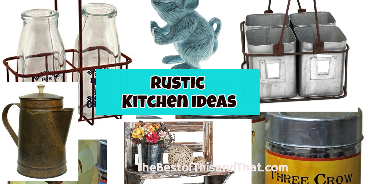 Rustic Farmhouse kitchen decor ideas