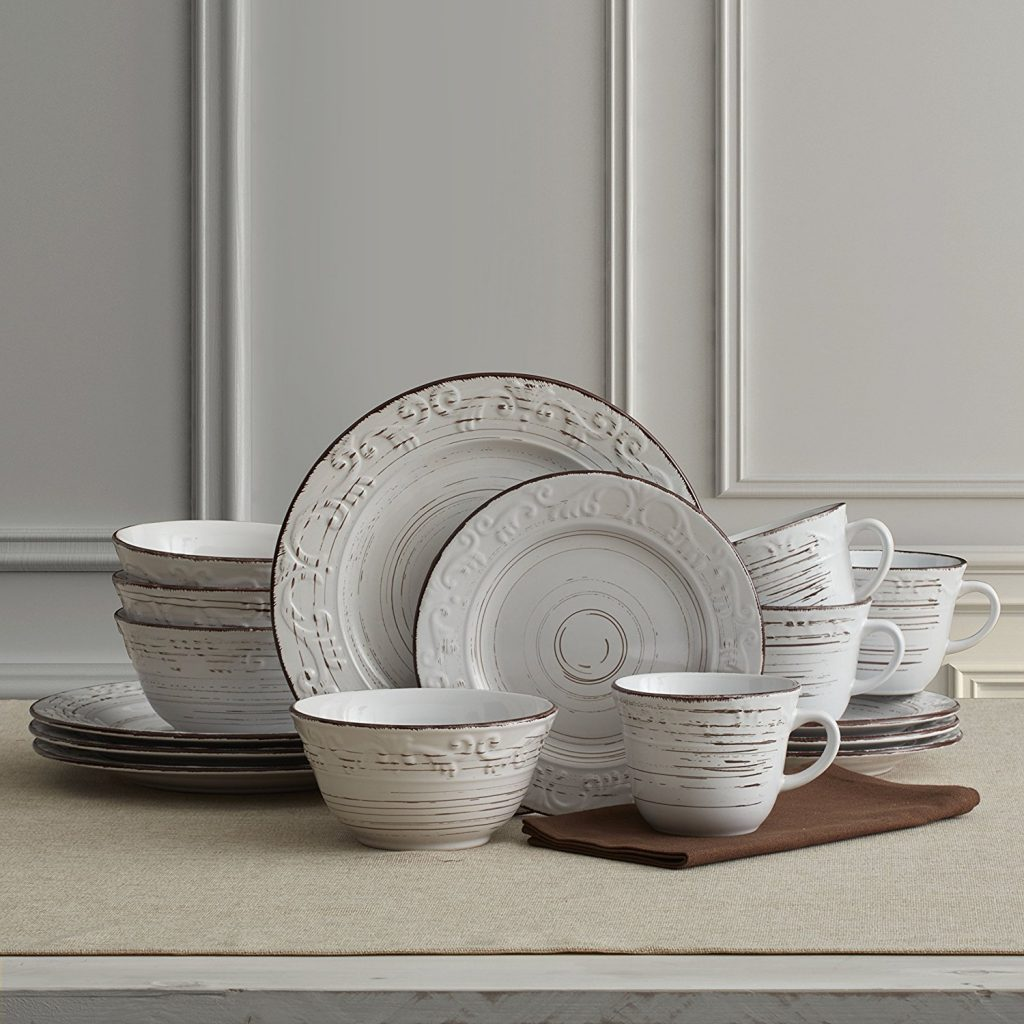 White Rustic Dishware